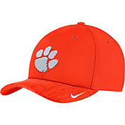 Nike Men's Clemson Tigers Orange Aerobill Swoosh Flex Classic99 Football Sideline Hat