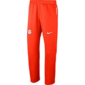 Nike Men's Clemson Tigers Orange Therma-FIT Pants