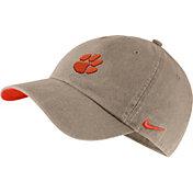 Nike Men's Clemson Tigers Tan Washed Heritage86 Hat