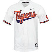 Nike Men's Clemson Tigers Dri-FIT Replica Baseball White Jersey