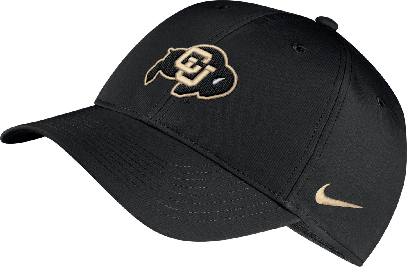 Nike Men's Colorado Buffaloes Legacy91 Adjustable Black Hat
