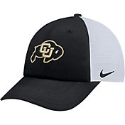 Nike Men's Colorado Buffaloes Black Heritage86 Adjustable Trucker Hat