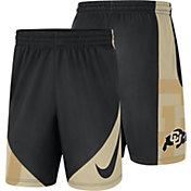 Nike Men's Colorado Buffaloes Basketball HBR Black Shorts
