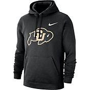 Nike Men's Colorado Buffaloes Club Fleece Pullover Black Hoodie
