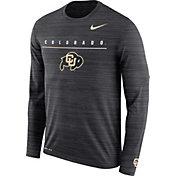 Nike Men's Colorado Buffaloes Velocity Legend Graphic Long Sleeve Black T-Shirt