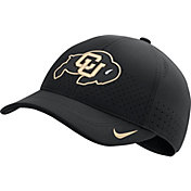 Nike Men's Colorado Buffaloes Aerobill Classic99 Football Sideline Black Hat