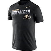 Nike Men's Colorado Buffaloes Legend Football Sideline Black T-Shirt