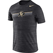 Nike Men's Colorado Buffaloes Velocity Legend Graphic Black T-Shirt