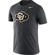 Nike Men's Colorado Buffaloes Grey Logo Dry Legend T-Shirt