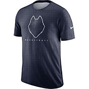 Nike Men's UConn Huskies Blue Player Dri-FIT Basketball T-Shirt