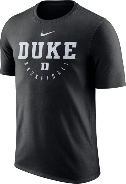 Nike Mens Duke Blue Devils Key Basketball Legend Black T Shirt
