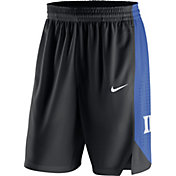 Nike Men's Duke Blue Devils Replica Basketball Black Shorts
