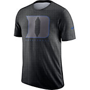 Nike Men's Duke Blue Devils Grey Player Dri-FIT Basketball T-Shirt