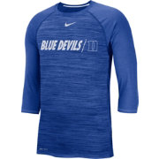 Nike Men's Duke Blue Devils Duke Blue Dry Legend 3/4 Sleeve T-Shirt