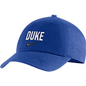 Nike Men's Duke Blue Devils Duke Blue Heritage86 Arch Wordmark Hat