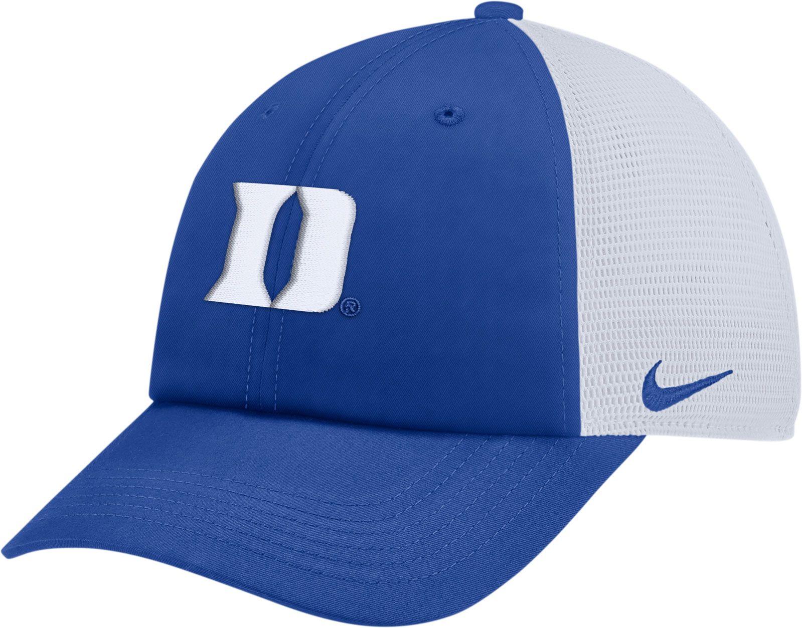 wholesale dealer 494a2 a9f31 ... denmark nike mens duke blue devils duke blue heritage86 adjustable trucker  hat 30215 3a0b6