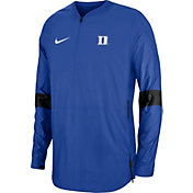 Nike Men's Duke Blue Devils Duke Blue Lockdown Half-Zip Football Jacket