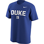 Nike Men's Duke Blue Devils Duke Blue Lockup T-Shirt