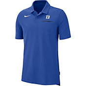 Nike Men's Duke Blue Devils Duke Blue Dri-FIT Elite Football Sideline Polo