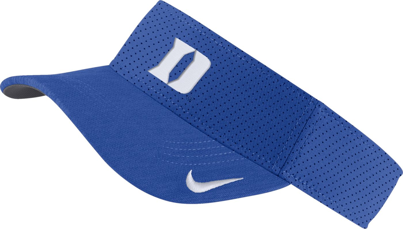 Nike Men's Duke Blue Devils Duke Blue AeroBill Football Sideline Visor