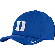 Nike Men's Duke Blue Devils Duke Blue Aerobill Swoosh Flex Classic99 Football Sideline Hat