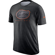 Nike Men's Florida Gators Grey Player Dri-FIT Basketball T-Shirt
