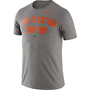 Nike Men's Florida Gators Grey Dri-FIT Phrase T-Shirt