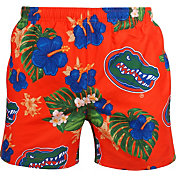 FOCO Men's Florida Gators Orange Floral Shorts