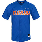 Nike Men's Florida Gators Blue Dri-FIT Replica Baseball Jersey