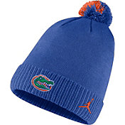 Jordan Men's Florida Gators Blue Football Sideline Pom Beanie