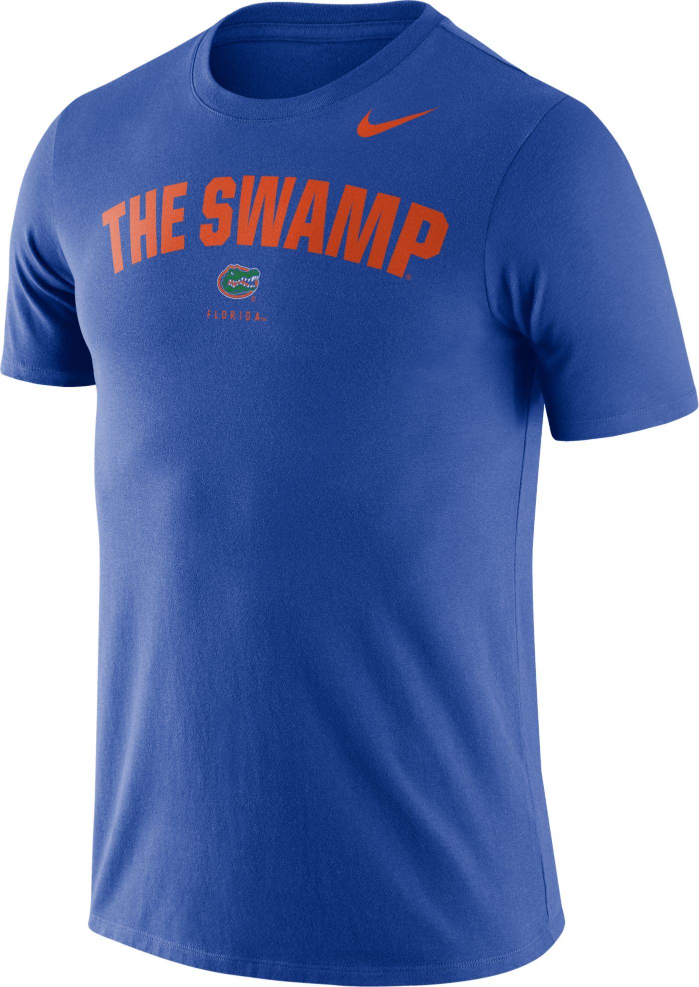 Nike Men's Florida Gators Blue Dri-FIT Phrase T-Shirt