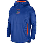 Nike Men's Florida Gators Blue Pullover Fly Rush Jacket