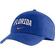 Nike Men's Florida Gators Blue Heritage86 Arch Wordmark Hat