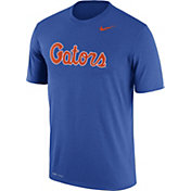 Nike Men's Florida Gators Blue Logo Dry Legend T-Shirt