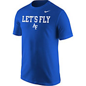 Nike Men's Air Force Falcons Blue Mantra T-Shirt