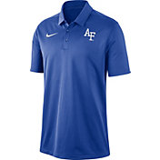 Nike Men's Air Force Falcons Blue Dri-FIT Franchise Polo