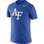 Nike Men's Air Force Falcons Blue Logo Dry Legend T-Shirt