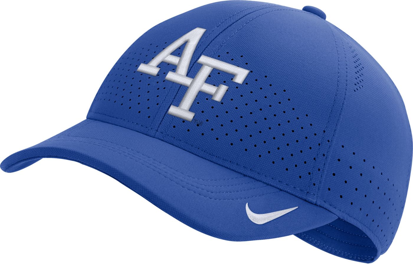 Nike Men's Air Force Falcons Blue Aerobill Classic99 Football Sideline Hat