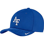Nike Men's Air Force Falcons Blue Aerobill Swoosh Flex Classic99 Football Sideline Hat