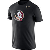 Nike Men's Florida State Seminoles Logo Dry Legend Black T-Shirt