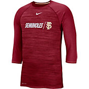 Nike Men's Florida State Seminoles Garnet Dry Legend 3/4 Sleeve T-Shirt