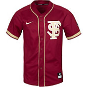 Nike Men's Florida State Seminoles Garnet Dri-FIT Replica Baseball Jersey