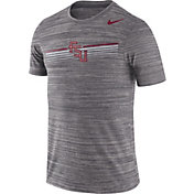 Nike Men's Florida State Seminoles Grey Velocity Legend Graphic T-Shirt