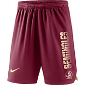 Nike Men's Florida State Seminoles Garnet Breathe Player Shorts