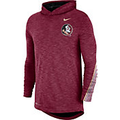 Nike Men's Florida State Seminoles Garnet Cotton Long Sleeve Hoodie T-Shirt