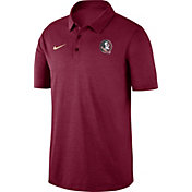 Nike Men's Florida State Seminoles Garnet Dri-FIT Breathe Polo