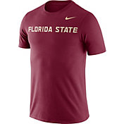 Nike Men's Florida State Seminoles Garnet Dri-FIT Cotton Word T-Shirt