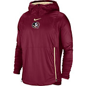 Nike Men's Florida State Seminoles Garnet Pullover Fly Rush Jacket