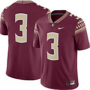 Nike Men's Florida State Seminoles #3 Garnet Game Football Jersey