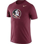 Nike Men's Florida State Seminoles Garnet Logo Dry Legend T-Shirt